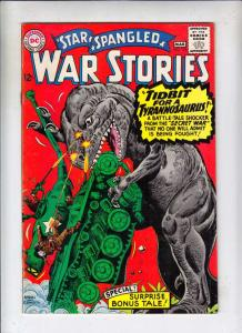 Star Spangled War Stories #125 (Mar-66) VG+ Affordable-Grade Dinosaur
