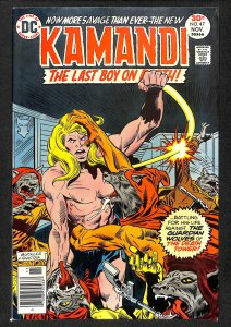 Kamandi, The Last Boy on Earth #47 (1976)