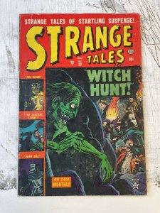 Strange Tales #18 VG+ 4.5 1953 russ heath cover ATLAS PUBLISHING pre-code 10c