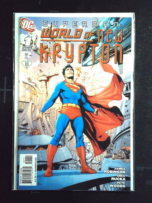 Superman: World of New Krypton #1 (2009)
