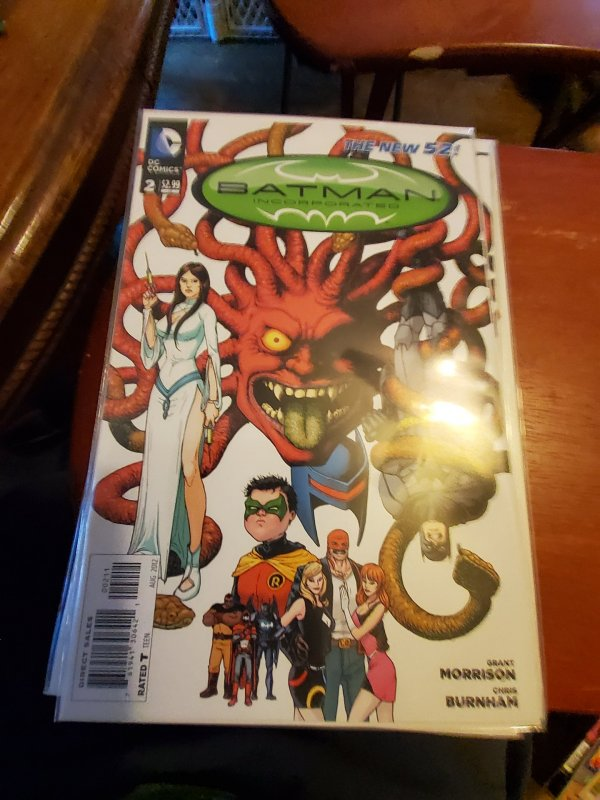 Batman, Incorporated #2 (2012)