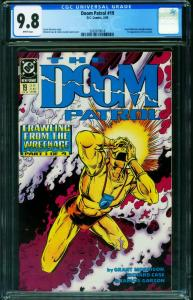 DOOM PATROL #19 CGC 9.8-1989 1st CRAZY JANE 2020819018