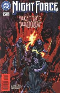 Night Force (1996 series) #2, NM (Stock photo)