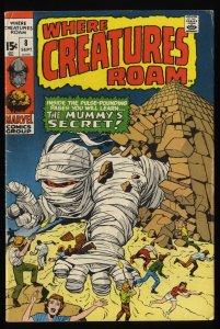 Where Creatures Roam #8 VG+ 4.5
