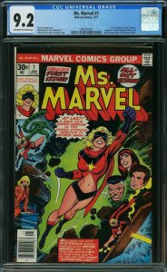 Ms. Marvel 1, CGC 9.2