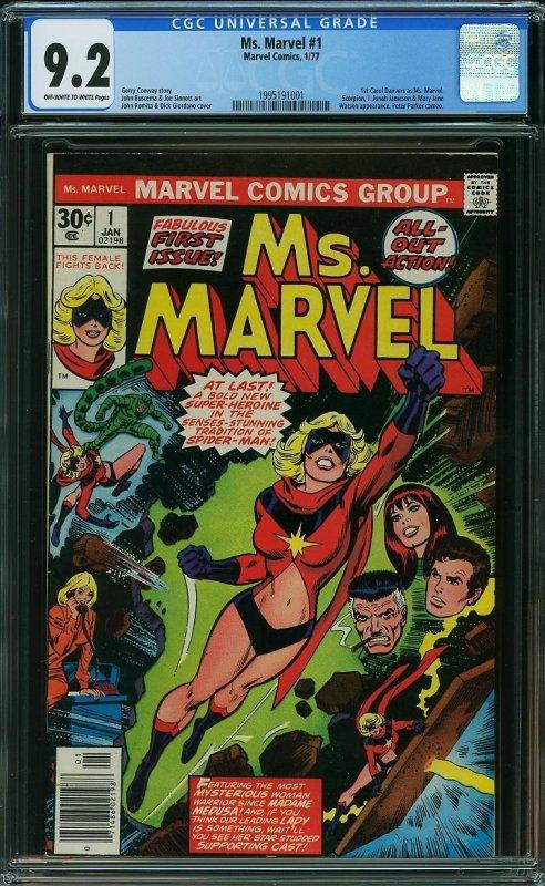 Ms. Marvel 1, CGC 9.2