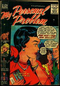 My Personal Problem #4 1956- Spicy Romance Comic Silver Age G