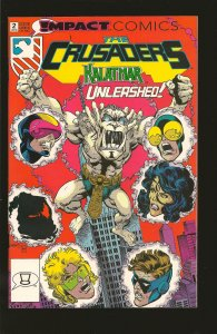 Impact Comics The Crusaders No 2 June 1992
