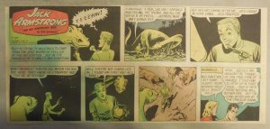 Jack Armstrong The All American Boy by Bob Schoenke 10/30/1949 Third Size Page !