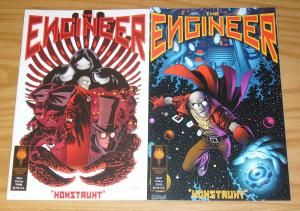 the Engineer #1-2 complete series - archaia studios press - brian churilla set
