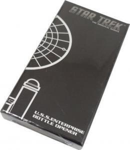STAR TREK Enterprise BOTTLE OPENER, New, Sci-fi, Sealed in Black box, Unopened