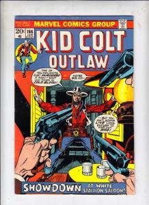 Kid Colt Outlaw #166 (Jan-73) VG/FN Mid-Grade Kid Colt