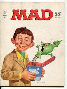 MAD Magazine #113 1967-Mingo-Jaffee-Drucker-Cooker-FN