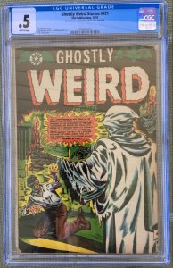 GHOSTLY WEIRD STORIES #121 CGC .5 or 0.5 - COMPLETE! STAR PUBLICATIONS L.B. COLE