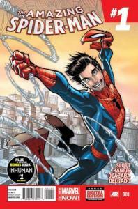Amazing Spider-Man (2014 series) #1, NM + (Stock photo)