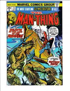 Man-Thing #13 (Feb-75) VF/NM High-Grade Man-Thing