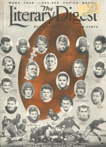 Literary Digest 10/27/1934-NCAA football team captains-mass suicide threat-pi...