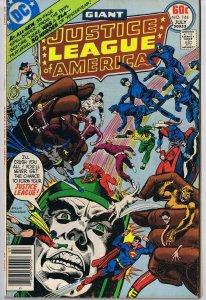 Justice League of America #144 ORIGINAL Vintage 1977 DC Comics Giant