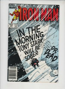 THE INVINCIBLE IRON MAN #184 1984 MARVEL / NEWSSTAND / MID +/-