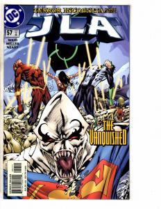 Lot Of 10 JLA DC Comic Books # 57 58 59 60 62 63 64 65 66 67 Batman Flash J261
