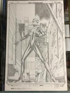 Spider-girl 57 Original Art Cover Pat Olliffe Al Williamson May Mayday Parker Nm