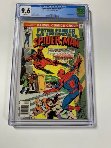 Spectacular Spider-man 1 Cgc 9.6 White Pages Marvel Bronze Age