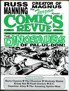 Comics Revue #89 1993-Spider-man-Russ Manning-dinosaurs-Modesty Blaise-Tarzan-VF