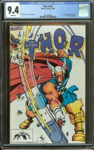 Thor 337 CGC 9.4   1st Beta Ray Bill   White Pages