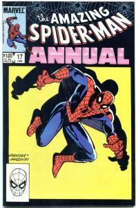 AMAZING SPIDER-MAN ANNUAL #17 1983-MARVEL NM-