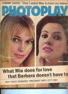Photoplay-Mia Farrow-Barbara Parkins-Jean Harlow-Doris Day-Nov-1964
