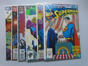 DC Superman Action Comics Ann # 3 - 6, 8, 10 8.0 VF (1991 - 2007)