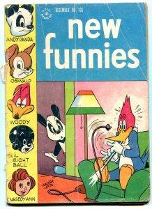 New Funnies #106 1945- Raggedy Ann- Li'l Eight Ball- Golden Age FAIR