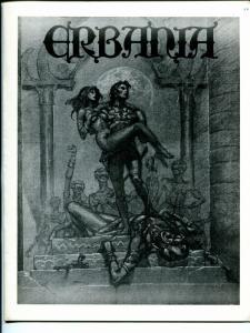 Erbania #46 1981 -Edgar Rice Burroughs-Tarzan-Michael Whelan-info-pix- FN/VF