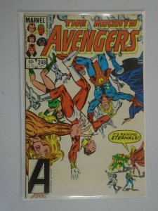 Avengers #248 featuring the Eternals Direct edition 6.0 FN (1984 1st Series)
