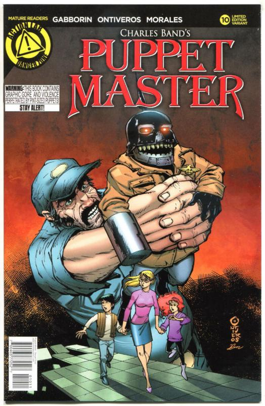 PUPPET MASTER #10, NM, Bloody Mess, 2015, Dolls, Killers,more HORROR  in store,A