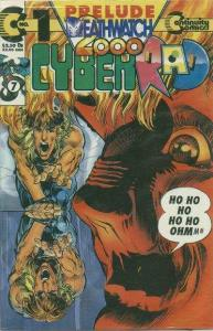 Cyberrad Deathwatch 2000 #1, NM (Stock photo)