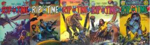 RIP IN TIME (1986 FA) 1-5  Richard Corben  COMPLETE!