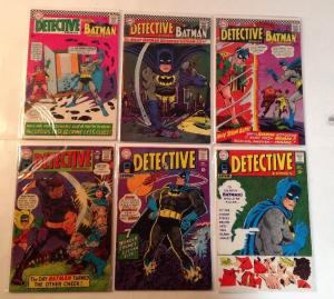 Batman In Detective Comics 361 362 364 367 368 370 4.0-6.0 Lot Set Run