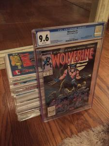 TWO Wolverine #1 9.6 CGC! 1-8 M/NM! Entire Weapon X Program, Many Many More!