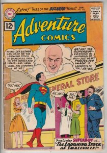 Adventure Comics #292 (Jan-62) FN Mid-Grade Superboy, Lana Lang, Ma and Pa Kent