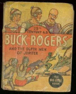 BUCK ROGERS #1169-BIG LITTLE BOOK-DEPTH MEN OF JUPITER G/VG