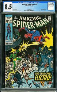 AMAZING SPIDER-MAN #82, CGC 8.5 VF+