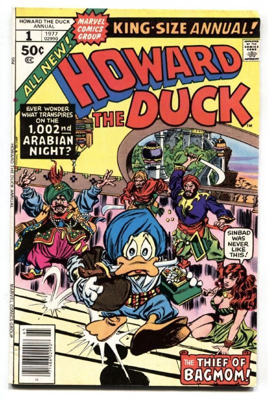 Howard The Duck Annual #1 1976-marvel-Comic Book-