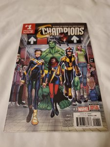 Champions 1 Near Mint- Cover by Humberto Ramos
