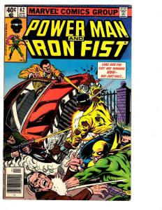 3 Power Man and Iron Fist Marvel Comic Books # 62 64 65 Luke Cage Defenders BH25