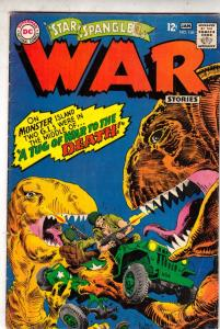 Star Spangled War Stories #136 (Jan-67) VG/FN Mid-Grade Dinosaur