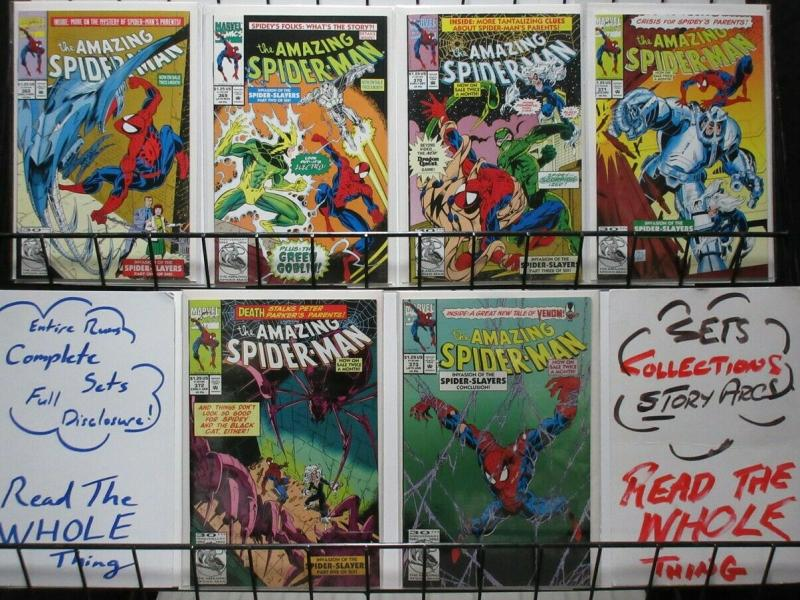 SPIDERMAN 368-373  Invasion Of The Spider-Slayers COMICS BOOK