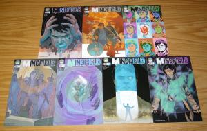 Mindfield #0 & 1-6 VF/NM complete series - phil noto B variants - war on terror