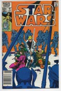 Star Wars (1977) #60 Newstand Edition
