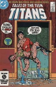 Tales of the Teen Titans #45 VF/NM; DC | save on shipping - details inside